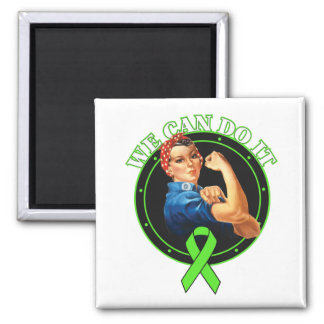 Non-Hodgkin's Lymphoma - We Can Do It Square Magnet