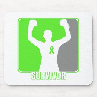 Non-Hodgkin's Lymphoma Winning Survivor Mousepads