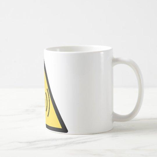 Non-ionising radiation hazard coffee mug