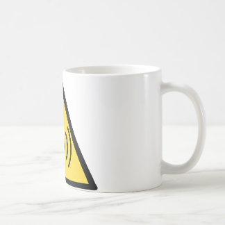 Non-ionizing radiation hazard basic white mug