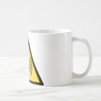 Non-ionizing radiation hazard basic white mug
