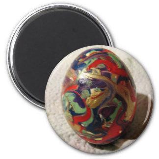 Non Objective Egg Fridge Magnets