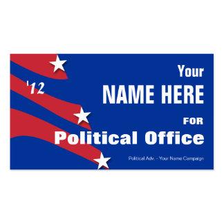 Non Partisan - Political Election Campaign Business Card Templates