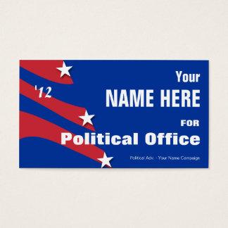 Non Partisan - Political Election Campaign Business Card