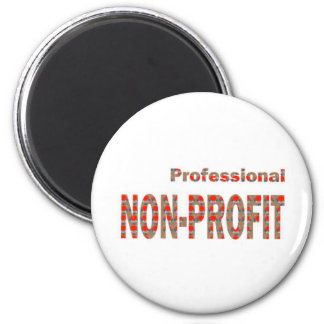 NON-PROFIT Professional Charity NGO Causes GIFTS A Fridge Magnet
