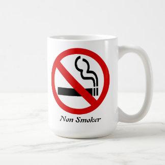 Non- Smoker Achievement Congratulations Basic White Mug