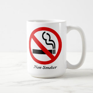 Non- Smoker Achievement Congratulations Coffee Mug