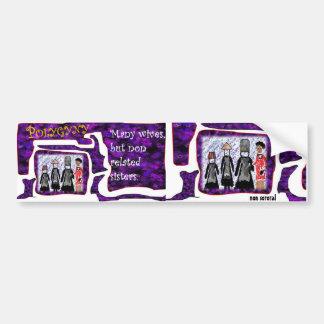 Non Sororal Polygyny-Bumper Sticker) Bumper Sticker