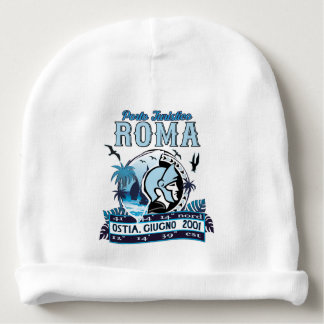 Non ufficial logo of Port of Rome Baby Beanie