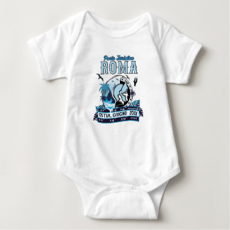 Non ufficial logo of Port of Rome Baby Bodysuit