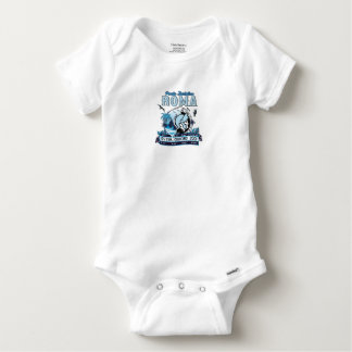 Non ufficial logo of Port of Rome Baby Onesie