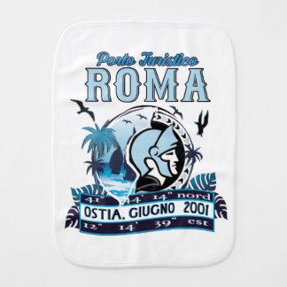 Non ufficial logo of Port of Rome Burp Cloth