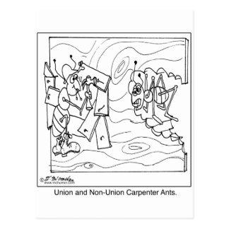 Non-Union Carpenter Ants Postcards