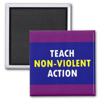 non violent action magnet