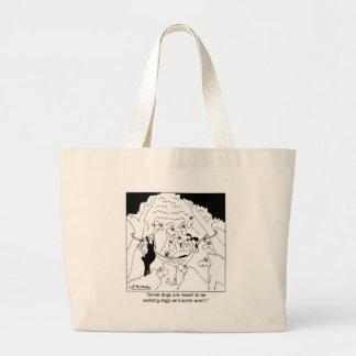 Non Working Sheep Dog Large Tote Bag