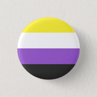 Nonbinary flag button