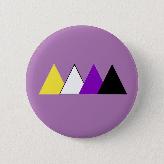 Nonbinary Pride Triangle Pin