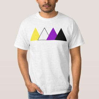 Nonbinary Pride Triangle Tee