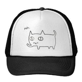 Nonchalant Kitty Cap