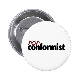 Nonconform 6 Cm Round Badge
