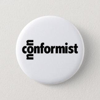 Nonconformist 6 Cm Round Badge
