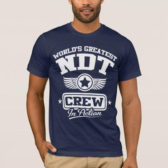 Nondestructive Testing (NDT) Crew T-Shirt