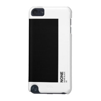 None more black, Spinal Tap Pantone style ipod iPod Touch 5G Case