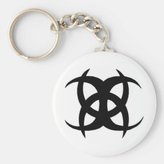NonFiction Basic Round Button Key Ring