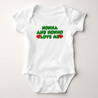 Nonna And Nonno Love Me Shirts