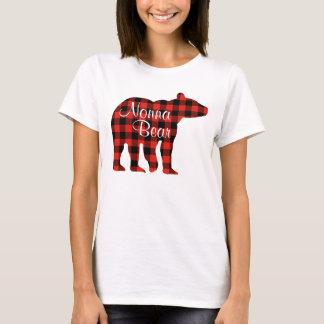 Nonna Bear plaid T-Shirt