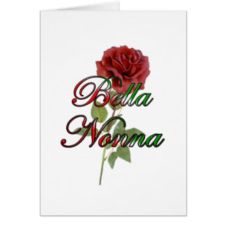 Nonna (Beautiful Italain Grandmother) Card