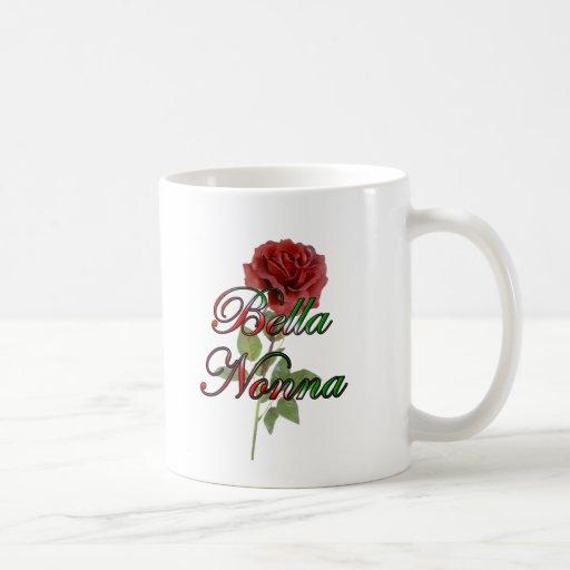 nonna beautiful italain grandmother coffee mugs zazzle