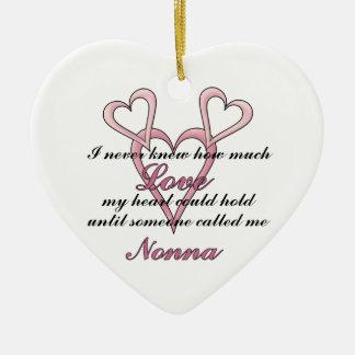 Nonna (I Never Knew) Decorative Ornament