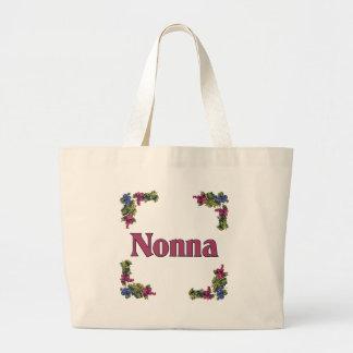Nonna (Italian Grandmother) Jumbo Tote Bag