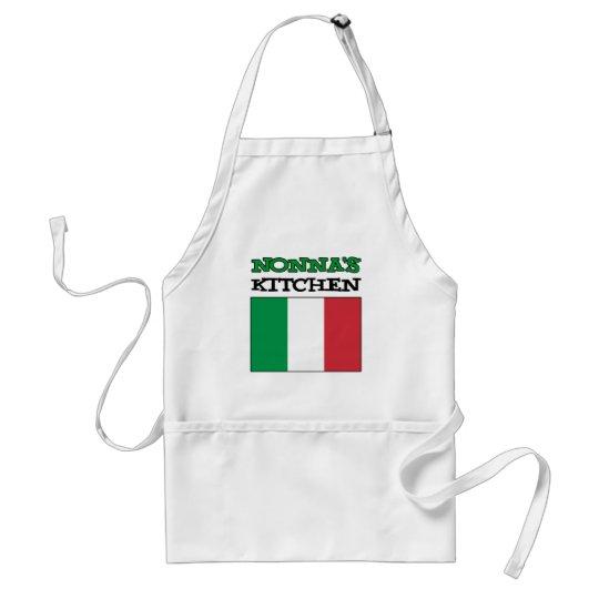Nonna's Kitchen Italian Flag Standard Apron