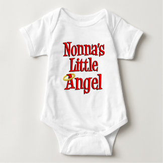 Nonna's Little Angel Baby Bodysuit