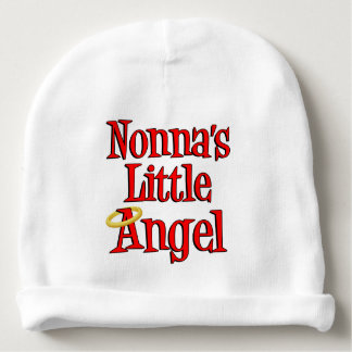 Nonna's LIttle Angel Grandchild Baby Beanie