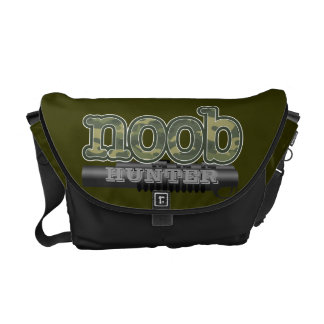Noob Hunter with vector tube gun Courier Bags