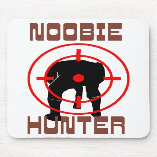 Noobie Hunter Mousepads