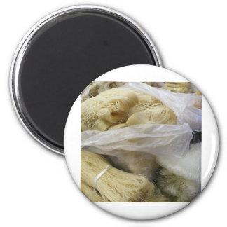 noodles 6 cm round magnet
