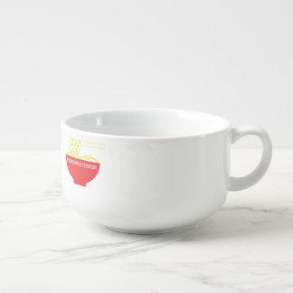 Noodles Soup Bowl With Handle