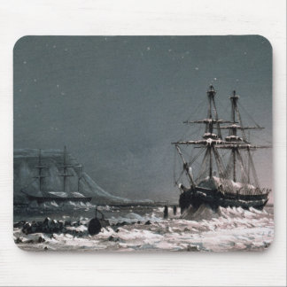 Noon: In Mid-Winter, Port Leopold, from 'Ten Colou Mouse Mat