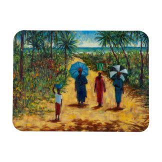 Noon Stroll 2010 Rectangular Photo Magnet