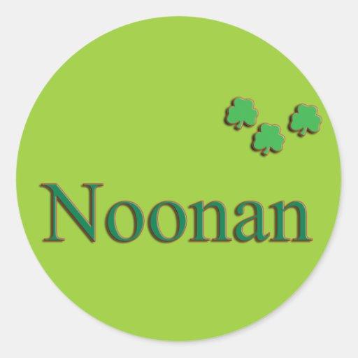Noonan Family Sticker