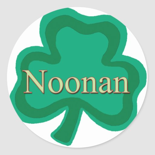 Noonan Family Stickers