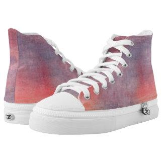 Noontide Hi Top Printed Shoes