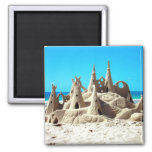 Noosa Beach Sandcastle Magnet
