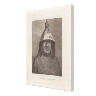 Nootka Woman, British Columbia Canvas Print
