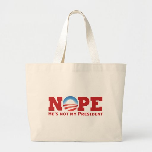 Nope Canvas Bags