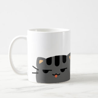 Nope Kitty Coffee Mug